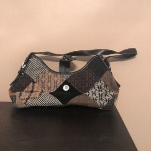 Fossil Patchwork Bag
